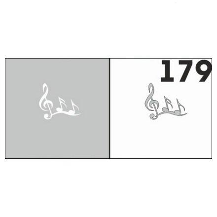 AIRnails, Трафарет №179Трафареты<br>Набор многоразовых клеевых трафаретов для аэрографии на ногтях, 6шт/1уп<br>