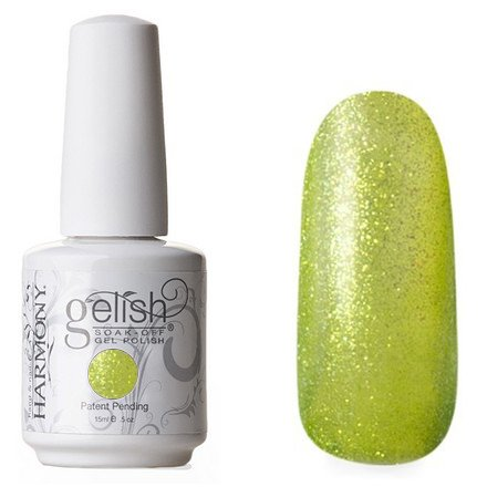 01603 Googly Moogly Harmony GelishHarmony Gelish<br>Желто-зеленый с микроблестками, полупрозрачный<br>