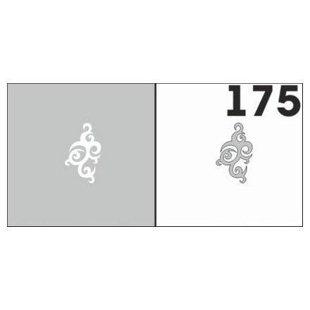 AIRnails, Трафарет №175Трафареты<br>Набор многоразовых клеевых трафаретов для аэрографии на ногтях, 6шт/1уп<br>