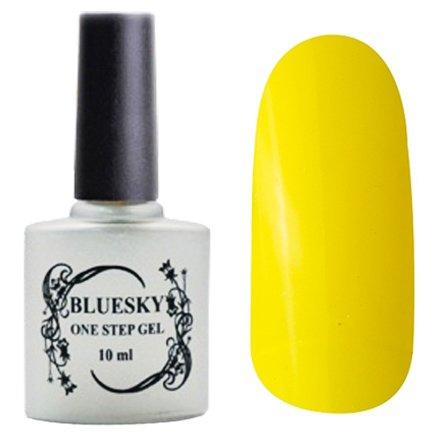Bluesky One Step Gel, цвет № 037Однофазный Bluesky<br>Однофазный гель-лак, ярко-желтый, полупрозрачный.<br>