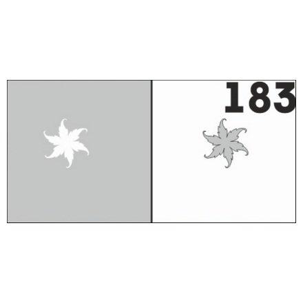 AIRnails, Трафарет №183Трафареты<br>Набор многоразовых клеевых трафаретов для аэрографии на ногтях, 6шт/1уп<br>