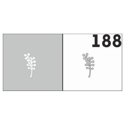 AIRnails, Трафарет №188Трафареты<br>Набор многоразовых клеевых трафаретов для аэрографии на ногтях, 6шт/1уп<br>