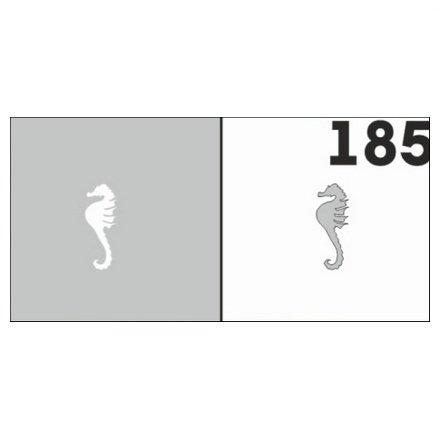 AIRnails, Трафарет №185Трафареты<br>Набор многоразовых клеевых трафаретов для аэрографии на ногтях, 6шт/1уп<br>