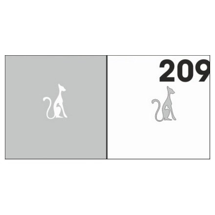 AIRnails, Трафарет №209Трафареты<br>Набор многоразовых клеевых трафаретов для аэрографии на ногтях, 6шт/1уп<br>