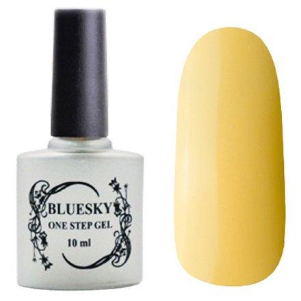 Bluesky, One Step Gel цвет № 050Однофазный Bluesky<br>Однофазный гель-лак,пастельно-желтый, плотный.<br>