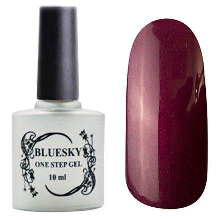 Bluesky One Step Gel, цвет № 060Однофазный Bluesky<br>Однофазный гель-лак, бордо с микро-шиммером, плотный.<br>