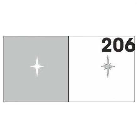 AIRnails, Трафарет №206Трафареты<br>Набор многоразовых клеевых трафаретов для аэрографии на ногтях, 6шт/1уп<br>