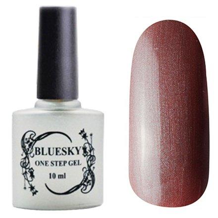 Bluesky One Step Gel, цвет № 067Однофазный Bluesky<br>Однофазный гель-лак, коричнево-сливовый перламутровый, плотный.<br>