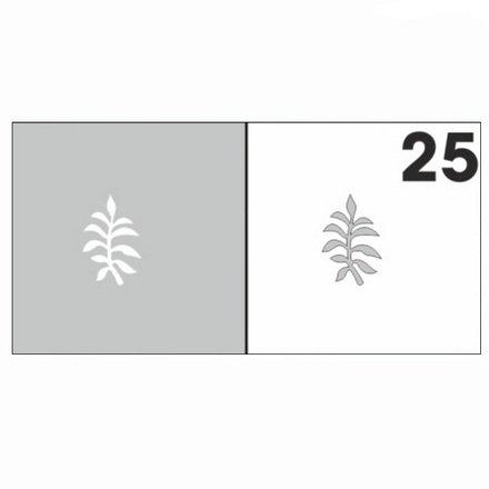 AIRnails, Трафарет №25Трафареты<br>Набор многоразовых клеевых трафаретов для аэрографии на ногтях, 6шт/1уп<br>