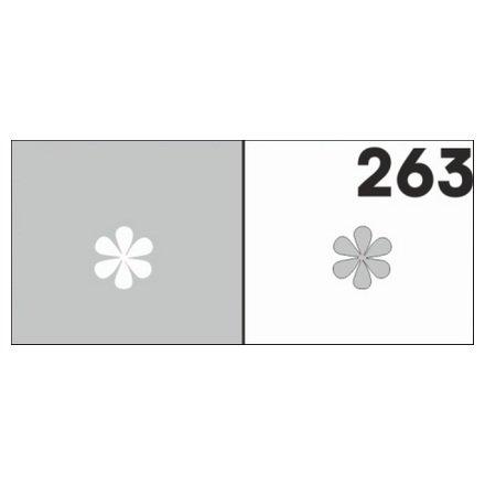 AIRnails, Трафарет №263Трафареты<br>Набор многоразовых клеевых трафаретов для аэрографии на ногтях, 6шт/1уп<br>