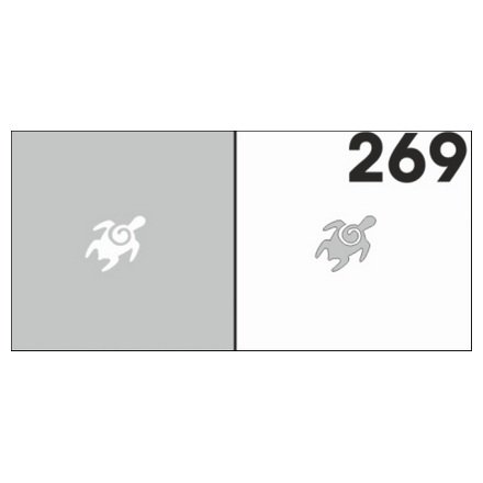 AIRnails, Трафарет №269Трафареты<br>Набор многоразовых клеевых трафаретов для аэрографии на ногтях, 6шт/1уп<br>
