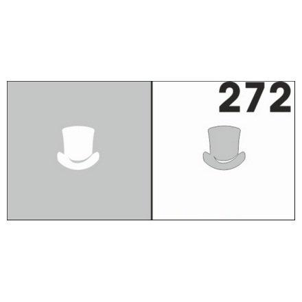 AIRnails, Трафарет №272Трафареты<br>Набор многоразовых клеевых трафаретов для аэрографии на ногтях, 6шт/1уп<br>