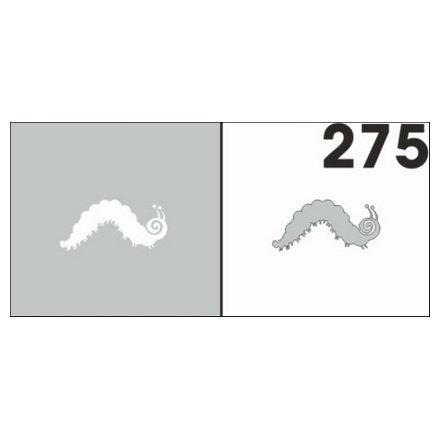 AIRnails, Трафарет №275Трафареты<br>Набор многоразовых клеевых трафаретов для аэрографии на ногтях, 6шт/1уп<br>