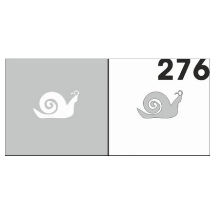 AIRnails, Трафарет №276Трафареты<br>Набор многоразовых клеевых трафаретов для аэрографии на ногтях, 6шт/1уп<br>