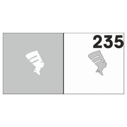 AIRnails, Трафарет №235Трафареты<br>Набор многоразовых клеевых трафаретов для аэрографии на ногтях, 6шт/1уп<br>