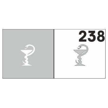 AIRnails, Трафарет №238Трафареты<br>Набор многоразовых клеевых трафаретов для аэрографии на ногтях, 6шт/1уп<br>