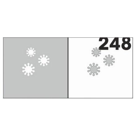 AIRnails, Трафарет №248Трафареты<br>Набор многоразовых клеевых трафаретов для аэрографии на ногтях, 6шт/1уп<br>