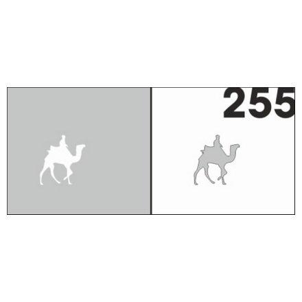 AIRnails, Трафарет №255Трафареты<br>Набор многоразовых клеевых трафаретов для аэрографии на ногтях, 6шт/1уп<br>