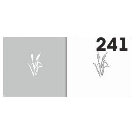 AIRnails, Трафарет №241Трафареты<br>Набор многоразовых клеевых трафаретов для аэрографии на ногтях, 6шт/1уп<br>
