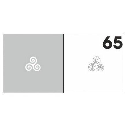 AIRnails, Трафарет №65Трафареты<br>Набор многоразовых клеевых трафаретов для аэрографии на ногтях, 6шт/1уп<br>