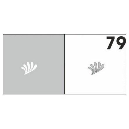 AIRnails, Трафарет №79Трафареты<br>Набор многоразовых клеевых трафаретов для аэрографии на ногтях, 6шт/1уп<br>