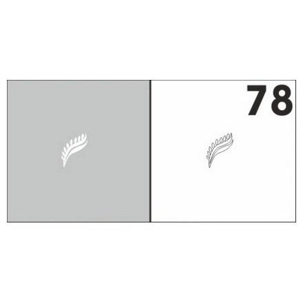 AIRnails, Трафарет №78Трафареты<br>Набор многоразовых клеевых трафаретов для аэрографии на ногтях, 6шт/1уп<br>