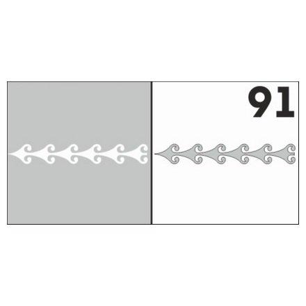 AIRnails, Трафарет №91Трафареты<br>Набор многоразовых клеевых трафаретов для аэрографии на ногтях, 6шт/1уп<br>