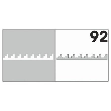 AIRnails, Трафарет №92Трафареты<br>Набор многоразовых клеевых трафаретов для аэрографии на ногтях, 6шт/1уп<br>
