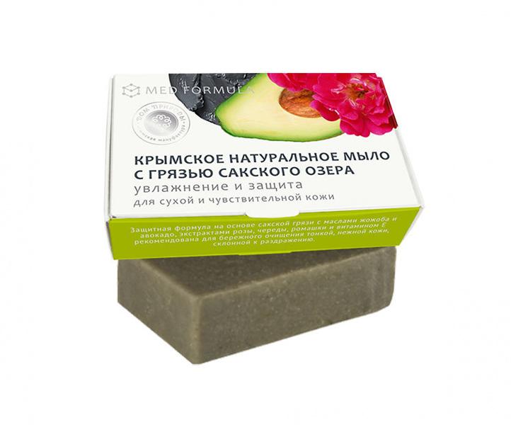 Дом Природы, Мыло грязевое - MED formula №1Органическое мыло<br>Увлажнение и защита (для сухой и чуствительной кожи).<br>