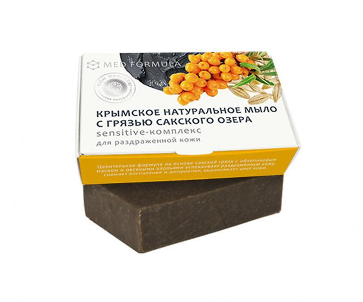 Дом Природы, Мыло грязевое - MED formula №3Органическое мыло<br>Sensitive - Комплекс (для раздраженной кожи).<br>