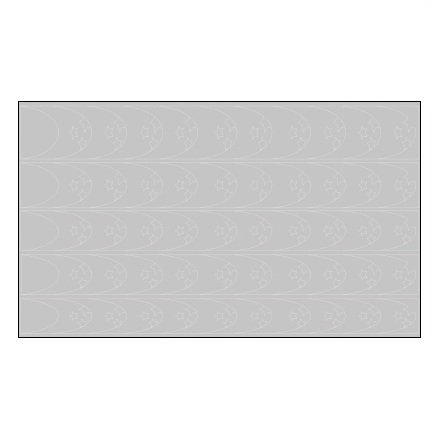 AIRnails, Трафарет Серия CF4Трафареты<br>Набор многоразовых клеевых трафаретов для аэрографии на ногтях, 5шт/1уп<br>
