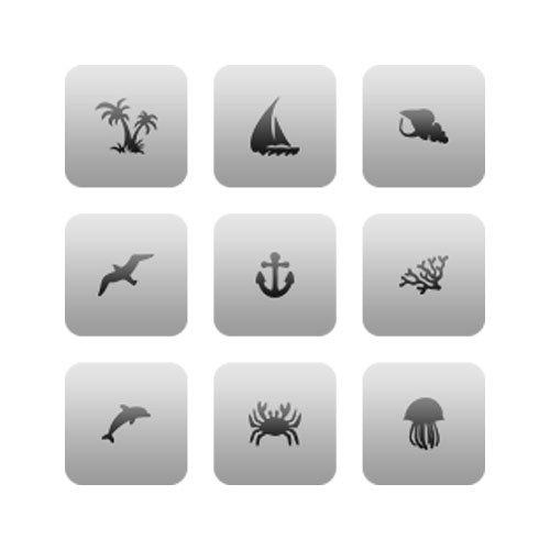 AIRnails, Трафарет Серия CL7Трафареты<br>Набор многоразовых клеевых трафаретов для аэрографии на ногтях, 9шт/1уп<br>