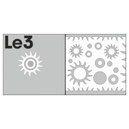 AIRnails, Трафарет Серия LE3Трафареты<br>Набор многоразовых клеевых трафаретов для аэрографии на ногтях, 6шт/1уп<br>