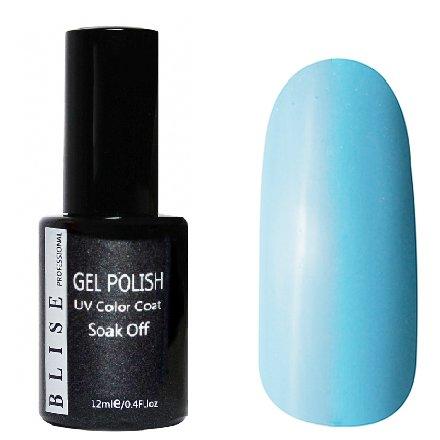 BLISE, Гель-лак - Ярко-светло-голубой №151 (12 ml.)BLISE<br>Гель-лак ярко-светло-голубой, глянцевый, плотный<br>