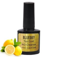 Bluesky, Шеллак No Cleanse Lemon Top Coat 10 ml