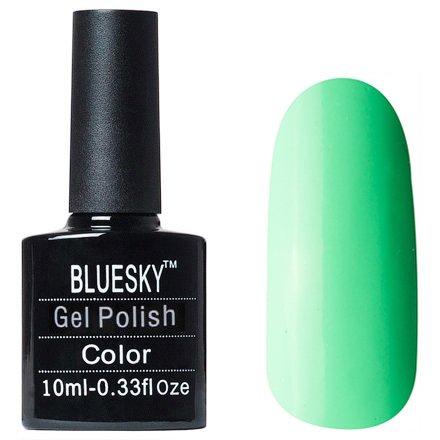 Bluesky, Gel Polish цвет №L06Bluesky 10 мл<br>Гель-лак бирюзовый оттенок, плотный.<br>