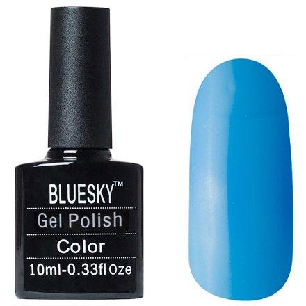 Bluesky Gel Polish, цвет #L28Bluesky 10 мл<br>Гель-лак синий оттенок, плотный.<br>
