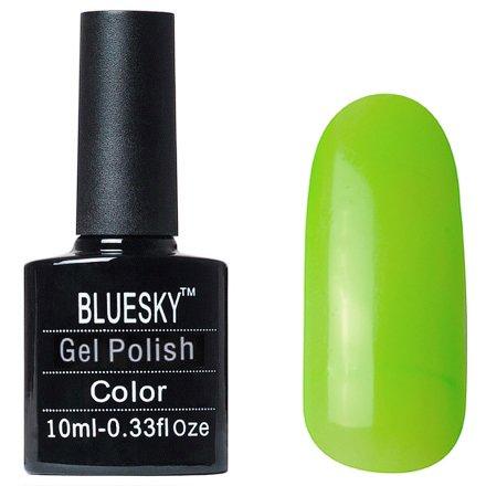 Bluesky, Gel Polish цвет №L35Bluesky 10 мл<br>Гель-лак дымчато-светло-зеленый оттенок, плотный.<br>