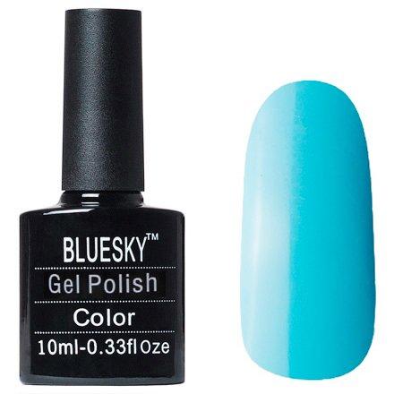 Bluesky Gel Polish, цвет №L39Bluesky 10 мл<br>Гель-лак дымчато-голубой оттенок, плотный.<br>