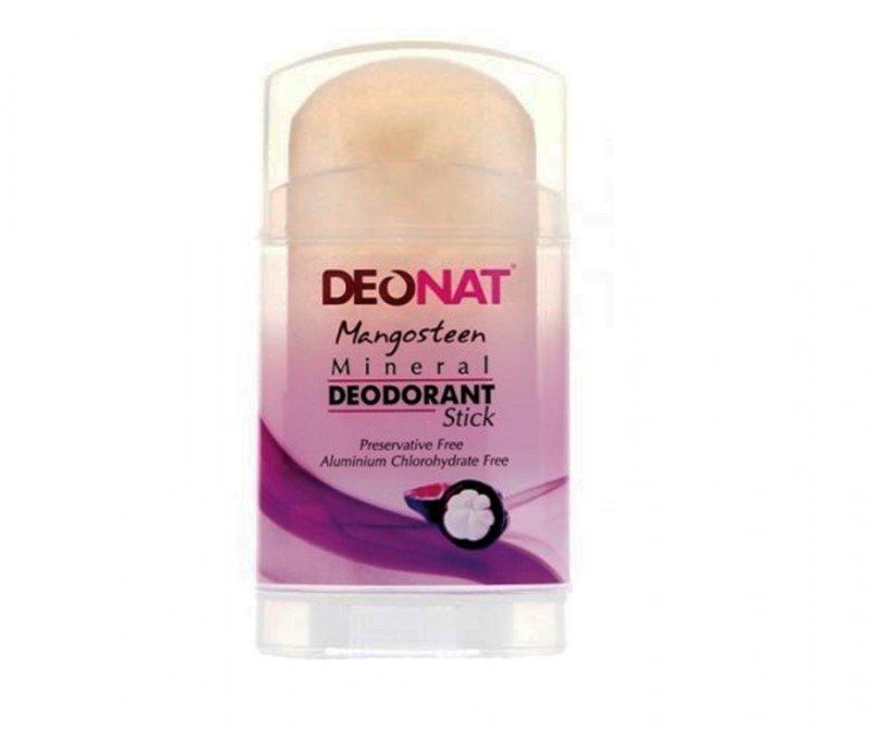 DeoNat, Кристалл-ДеоНат с соком Мангостина, стик плоский, 100 гр.Природный дезодорант Кристал-ДеоНат<br>Природный дезодорант Кристалл ДеоНат - 100% натуральный продукт.<br>