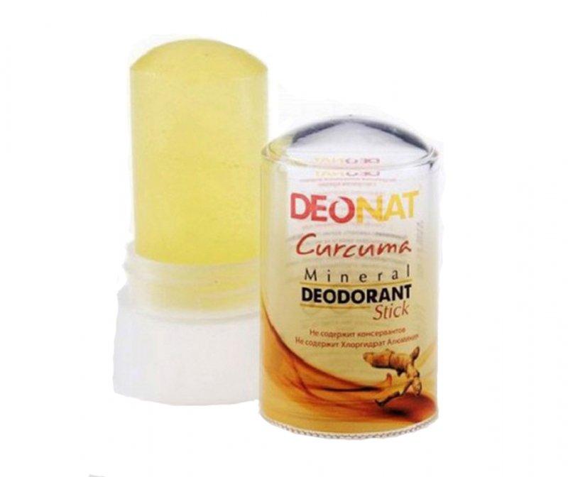 DeoNat, Кристалл-ДеоНат с Куркумой, 60 гр.Природный дезодорант Кристал-ДеоНат<br>Природный дезодорант Кристалл ДеоНат - 100% натуральный продукт.<br>