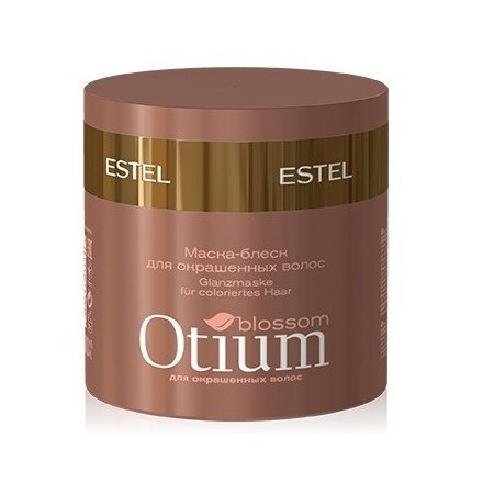 Estel, Маска-блеск OTIUM Blossom, для окрашенных волос, 300 млВсе средства<br>Маска-блеск сохраняет цвет ярким и насыщенным, предотвращает его преждевременное вымывание, придает дополнительное сияние<br>