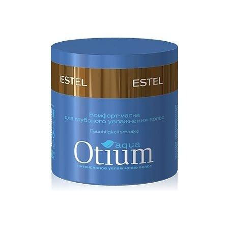 Estel, Комфорт-маска OTIUM AQUA для глубокого увлажнения волос, 300 млВсе средства<br>Комфорт-маска OTIUM AQUAвосстанавливает структуру волос, придает волосам эластичность и упругость<br>