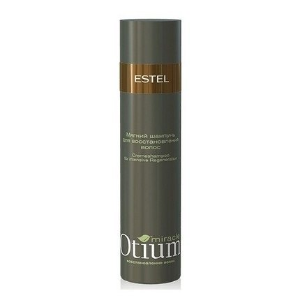 Estel, Мягкий шампунь OTIUM Miracle, для восстановления волос, 250 млВсе средства<br>Формула шампуня активно восстанавливает структуру волос изнутри, придаёт им здоровый и ухоженный вид.<br>