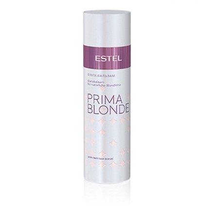 Estel, Блеск-бальзам PRIMA BLONDE, для светлых волос, 200 млВсе средства<br>Активные вещества в составе продукта восстанавливают и укрепляют структуру светлых волос<br>