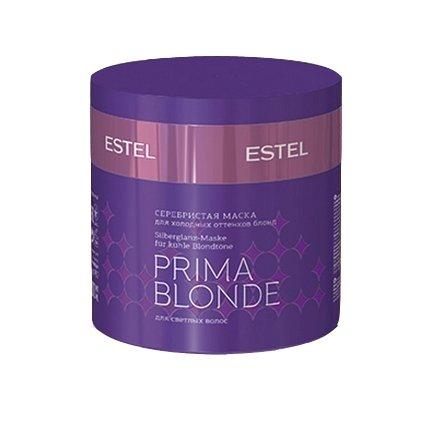 Estel, Серебристая маска PRIMA BLONDE, для холодных оттенков блонд, 300 млВсе средства<br>Высокая концентрация полезных веществ восстанавливает поврежденную структуру волос, питает, увлажняет и укрепляет волосы по всей длине<br>