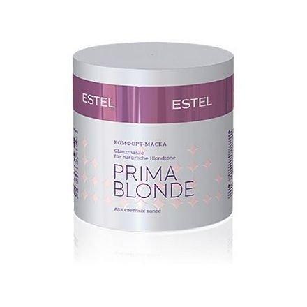 Estel, Комфорт-маска PRIMA BLONDE, для светлых волос, 300 млВсе средства<br>Мгновенное питание, интенсивное увлажнение, а главное – защита от негативных внешних воздействий<br>