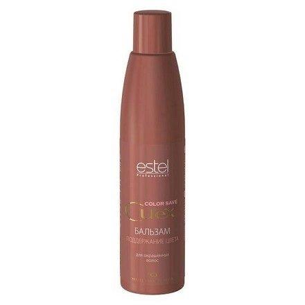 Estel, Бальзам CUREX COLOR SAVE поддержание цвета для окрашенных волос, 250 млВсе средства<br>Бальзам поддерживает интенсивность цвета и продлевает стойкость окраски<br>