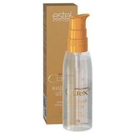 Estel, Жидкий шелк CUREX BRILLIANCE для всех типов волос, 100 млВсе средства<br>Насыщенный переливающийся блеск. Легкость и эластичность<br>