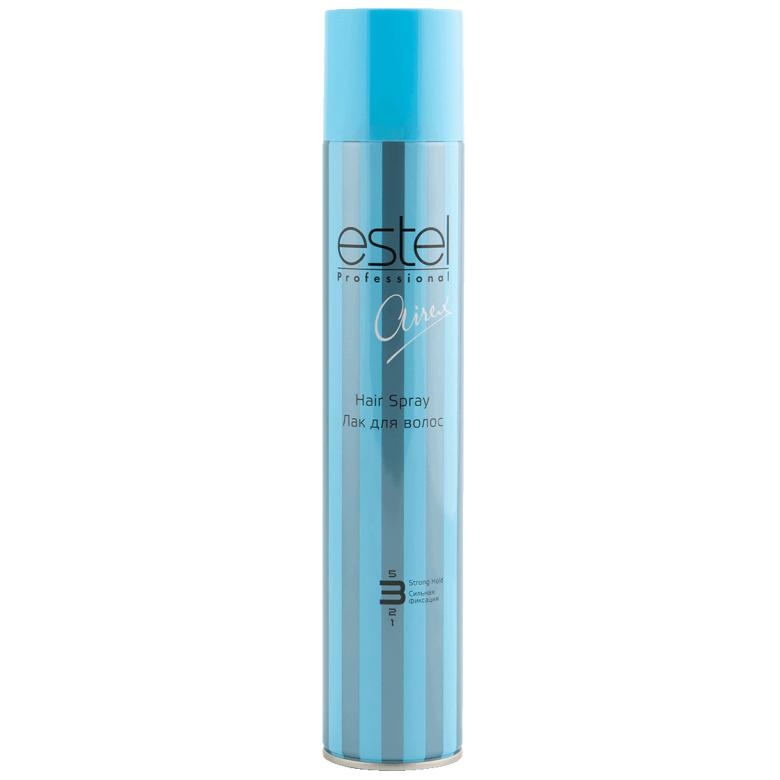 Estel, Лак AIREX для волос, сильной фиксации, 400 млВсе средства<br>Обеспечивает длительную и подвижную фиксацию<br>